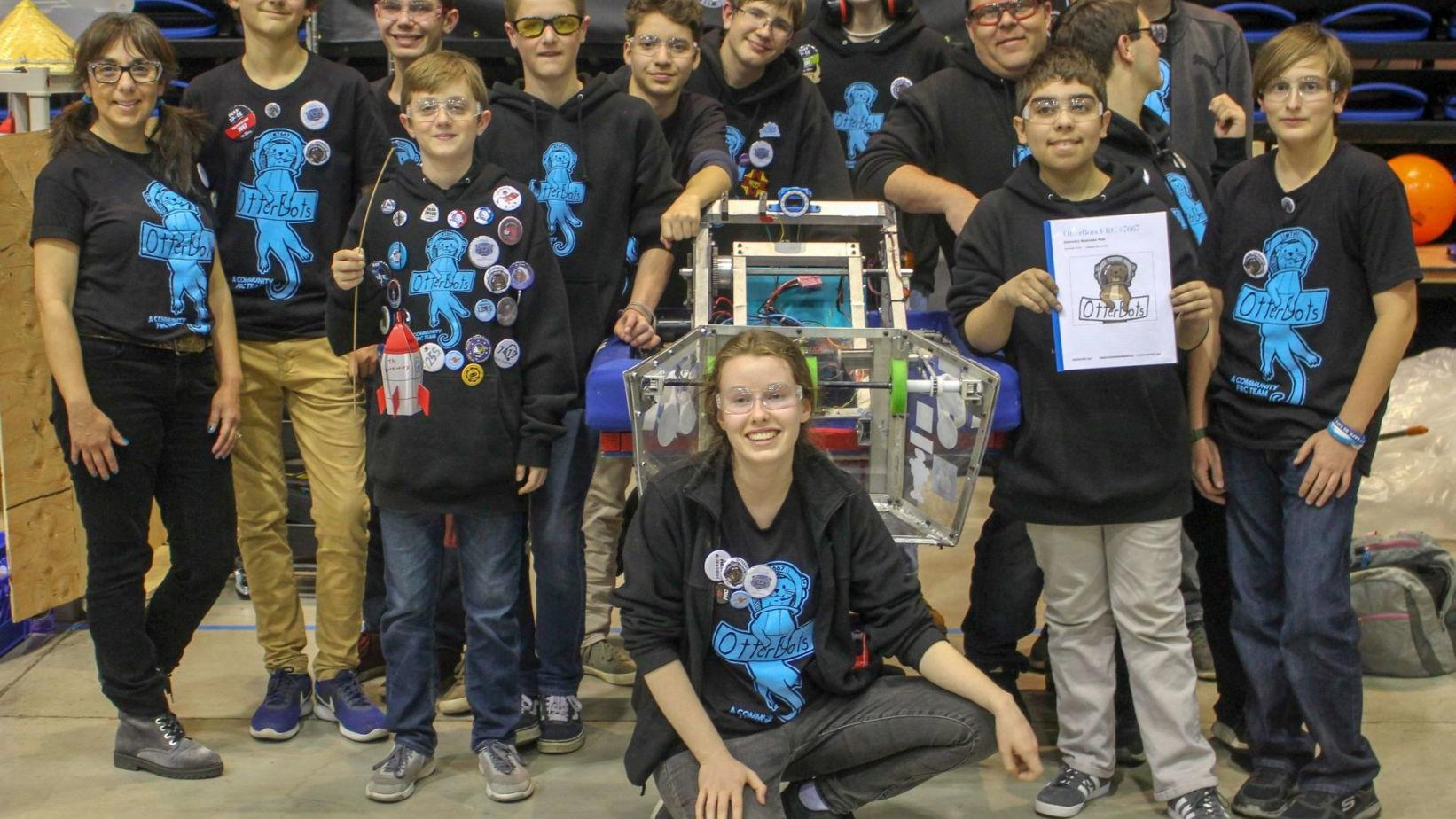 Napa Valley-based youth robotics team wins top prize in competition
