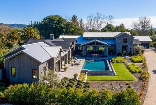Check out the most expensive home sold in Napa County in May. Located at 199 Zinfandel Lane, it sold for $8.8 million.