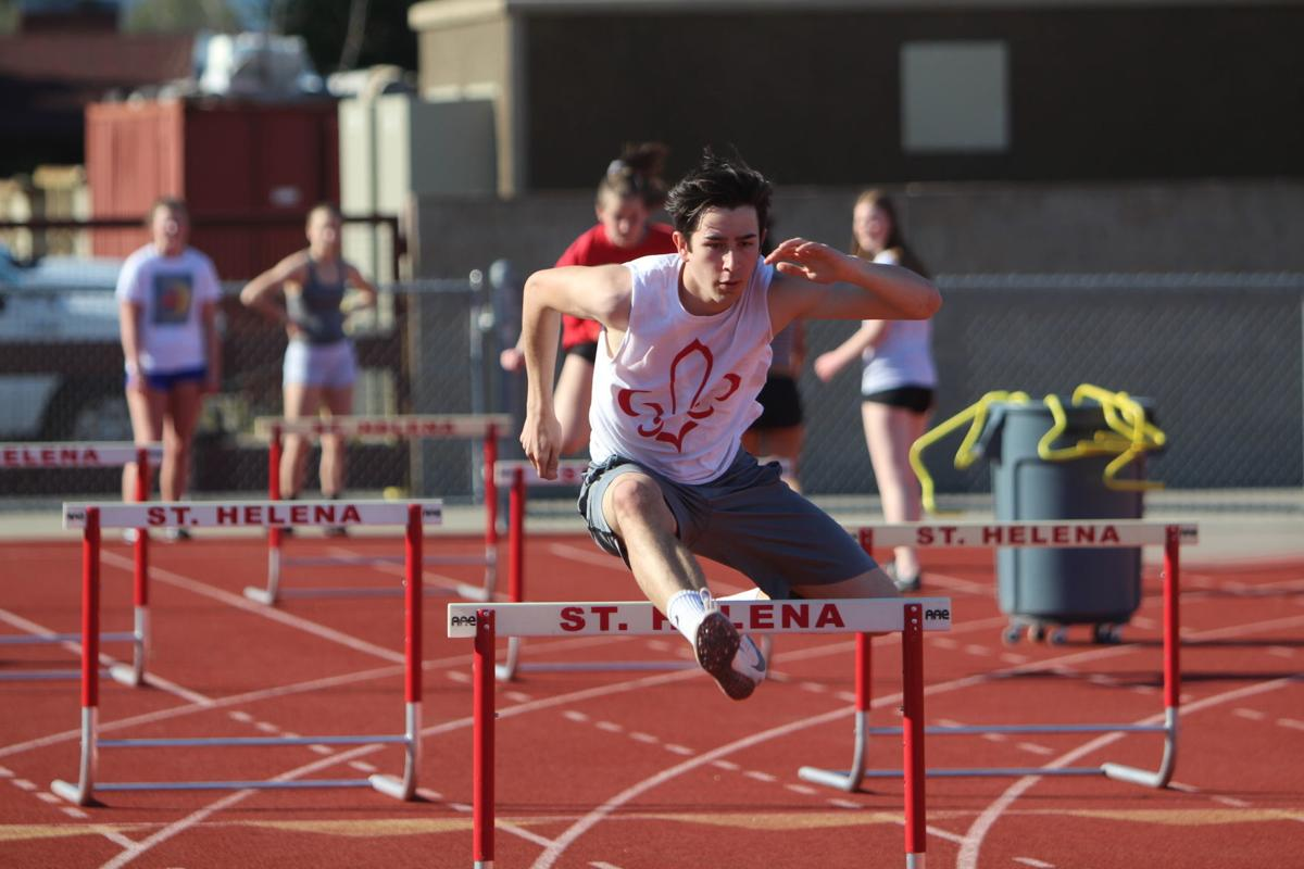 St. Helena track and field