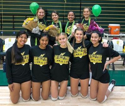Napa Valley College volleyball team