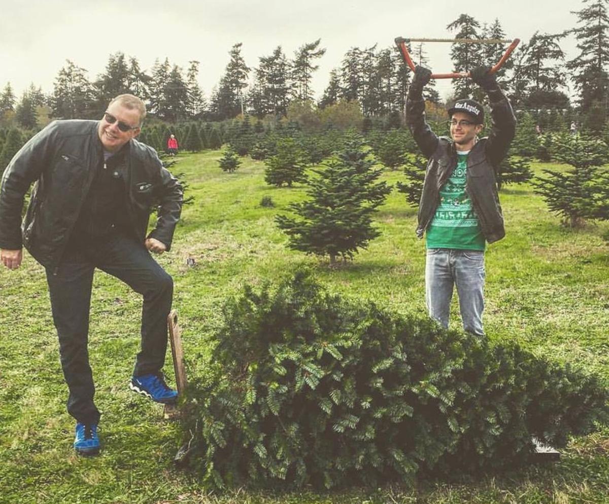 Noel Brinkerhoff Kevin Perser tree farm