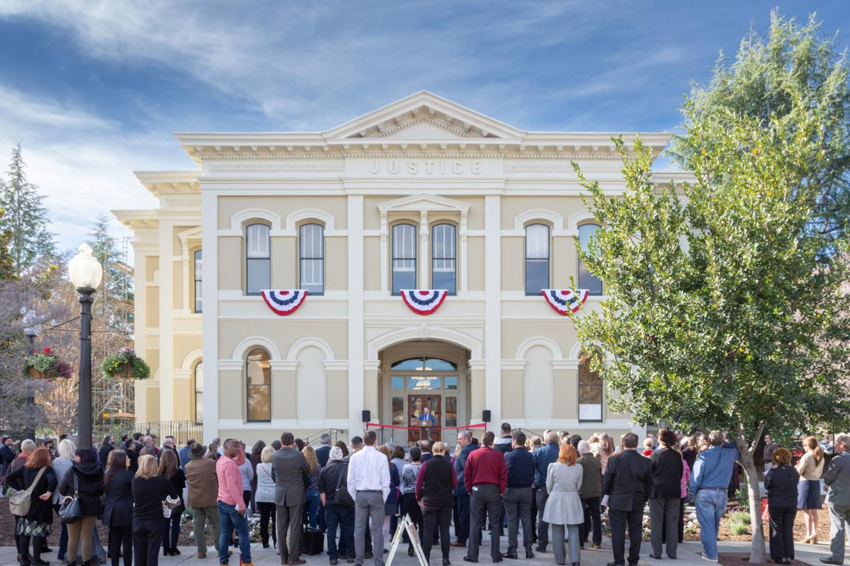 Alten Construction recently finished construction on the historic Napa County courthouse