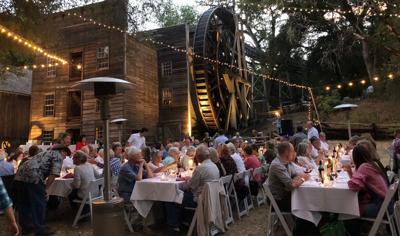 Harvest dinner at the Bale Grist Mill