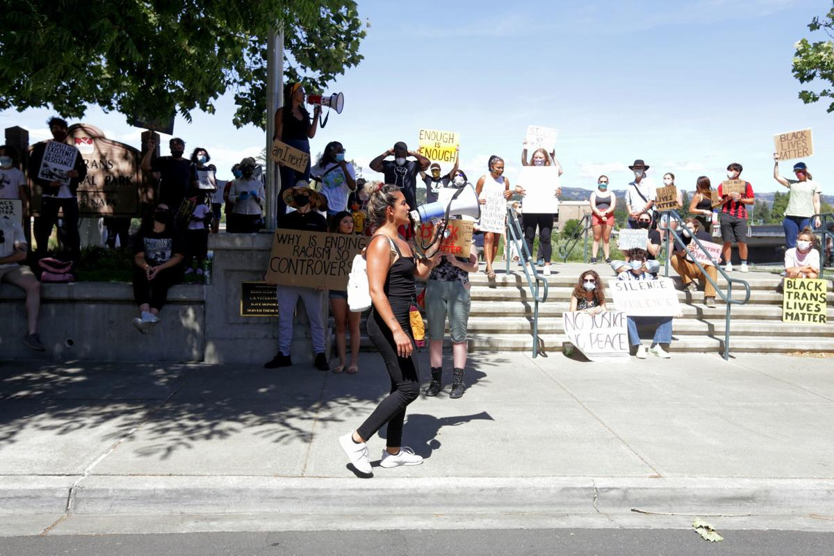 Napa protest against police violence