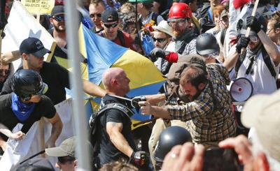 Prosecutors seek prison terms for Virginia rally attackers