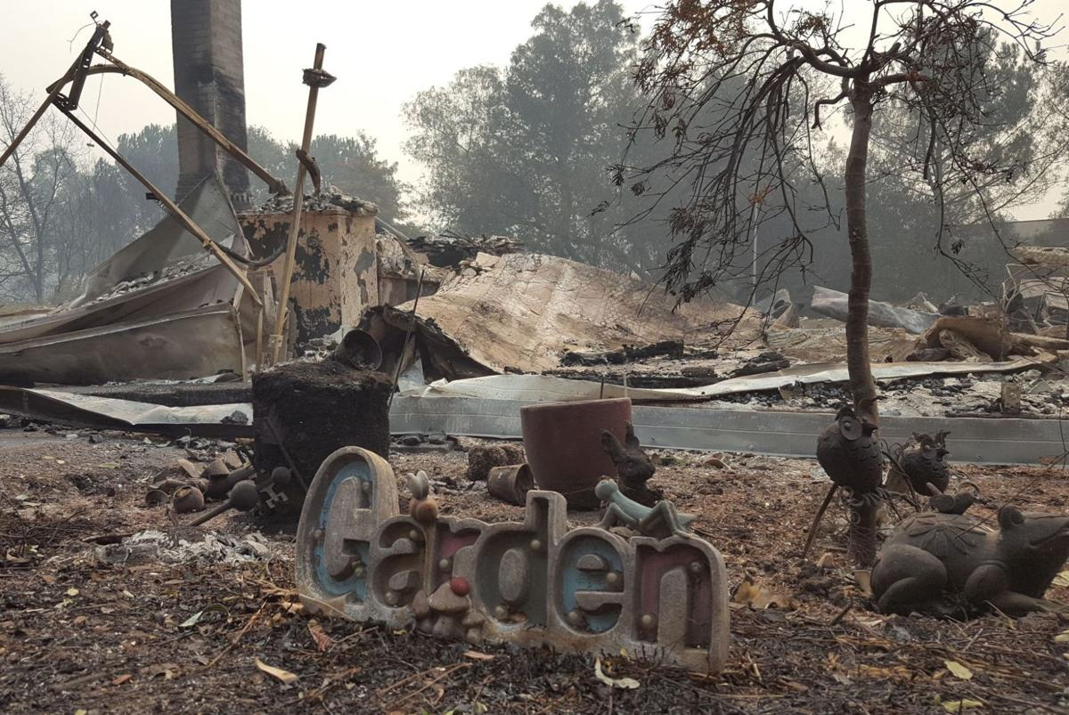 Amador residence Atlas Peak Fire