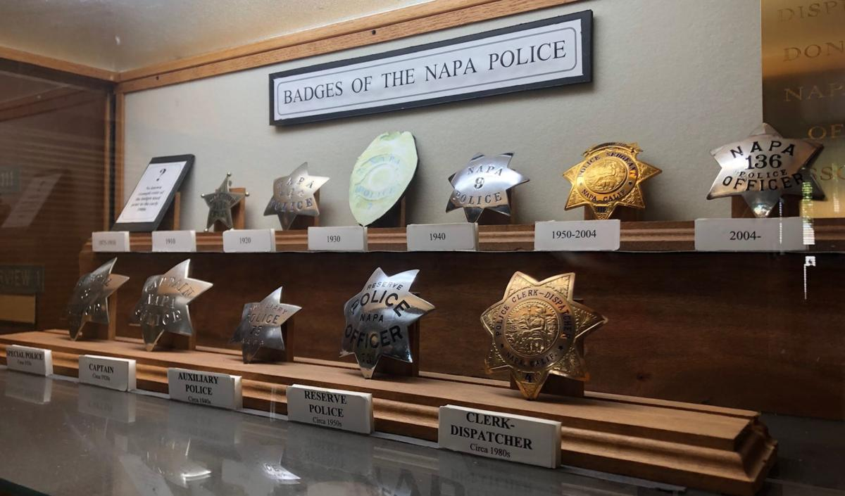Napa Police Department historical images and artifacts