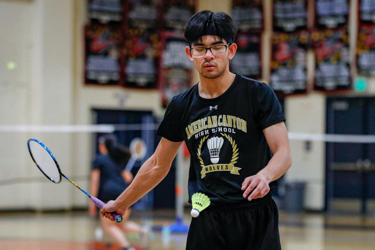 American Canyon at Napa High badminton