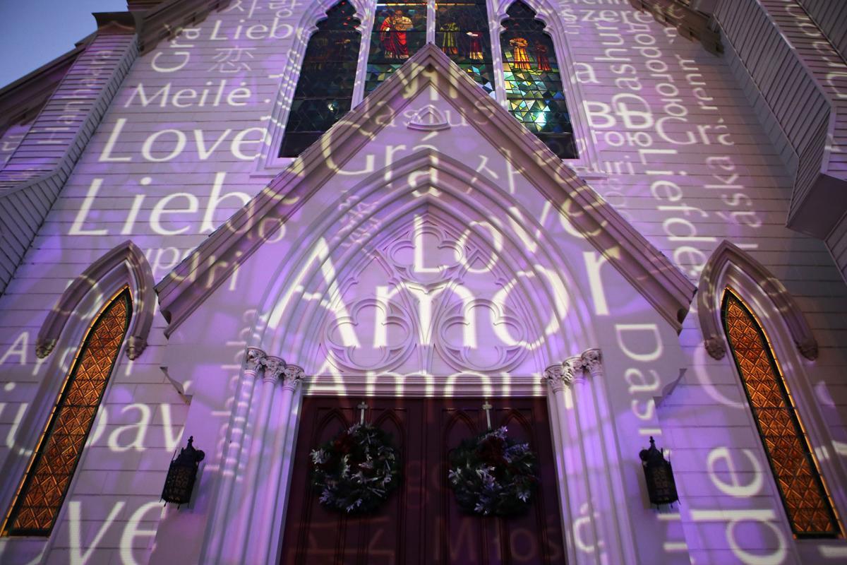 Napa Lighted Art Festival 2017 - The Language of Love