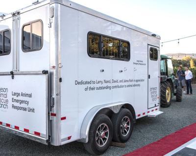 Jameson Animal Rescue Ranch trailer
