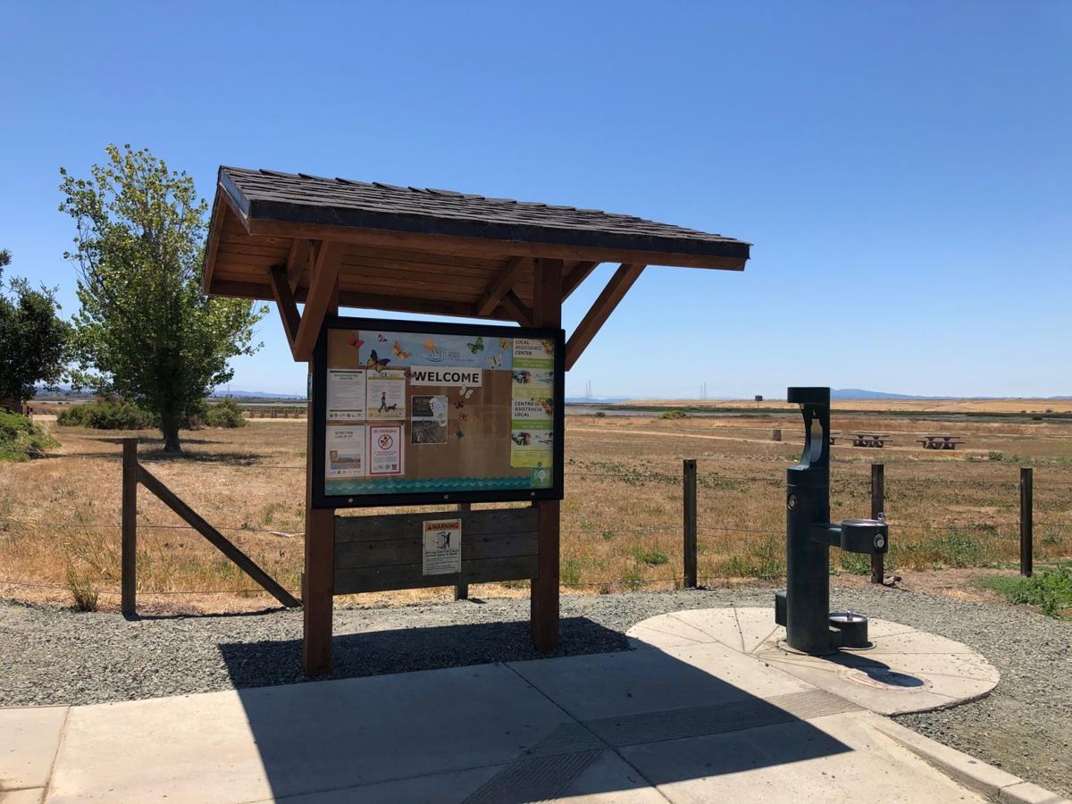 American Canyon wetlands kiosk