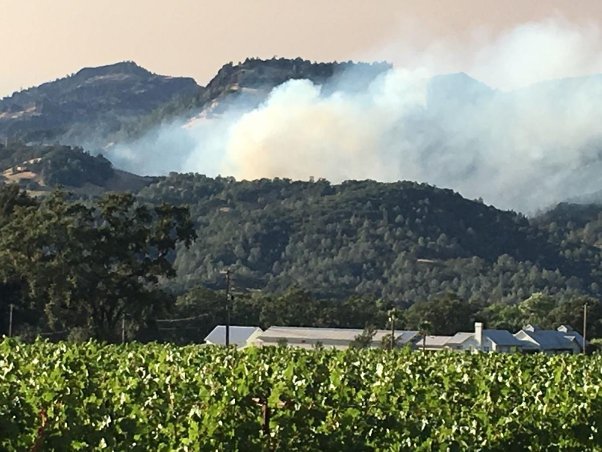 Fire breaks out at Calistoga landfill (copy)