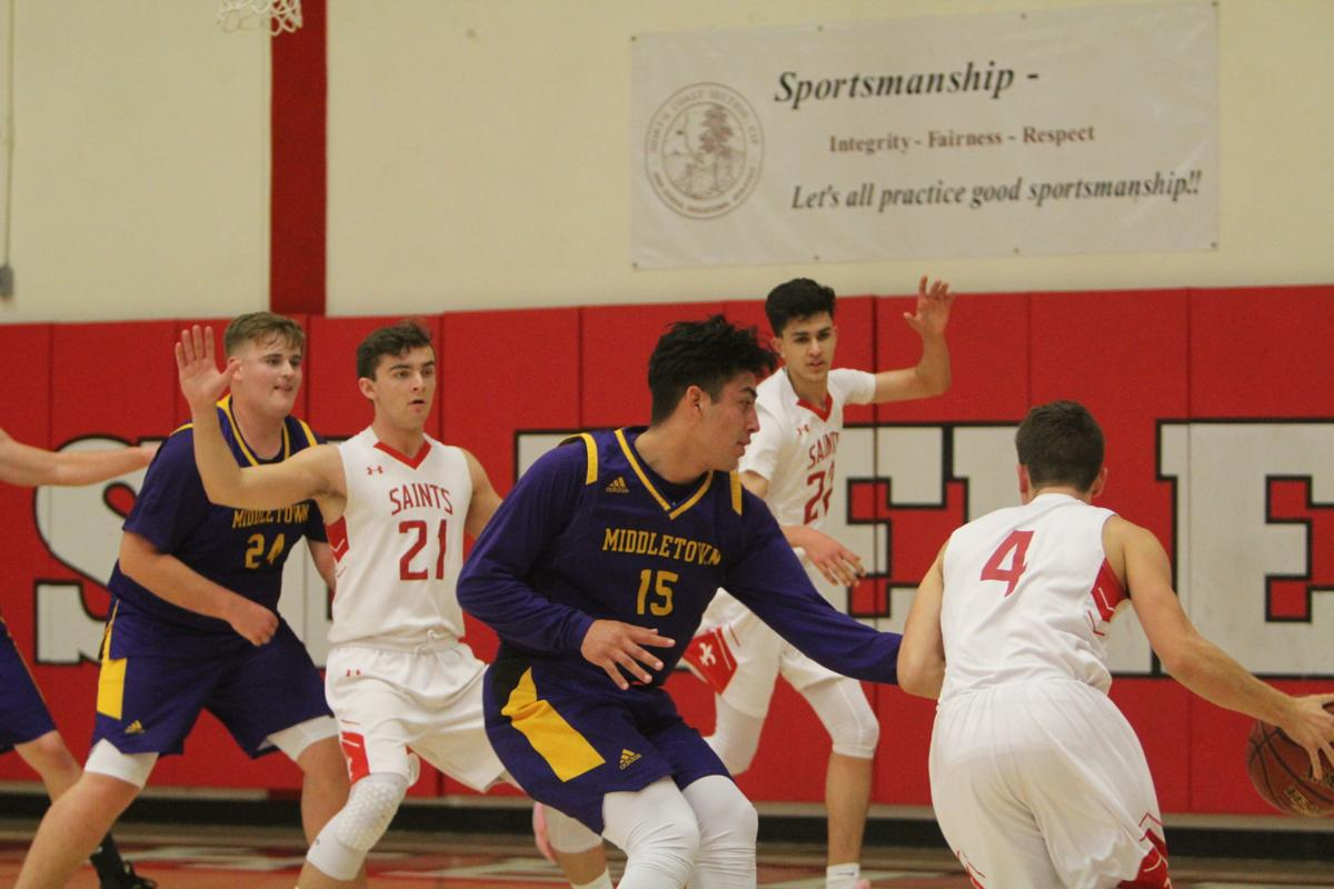 St. Helena boys basketball vs. Middletown