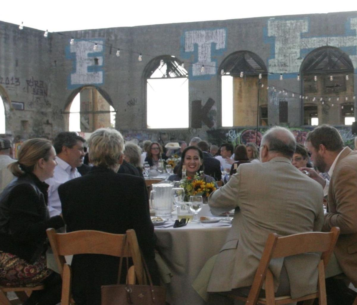 Dinner Evening at the Ruins gala