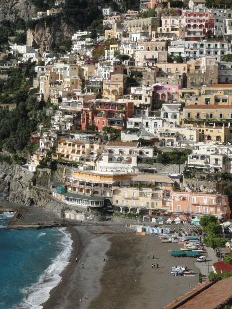 Italy's toe: Positano