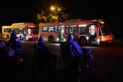 Veterans Home evacuation in Yountville