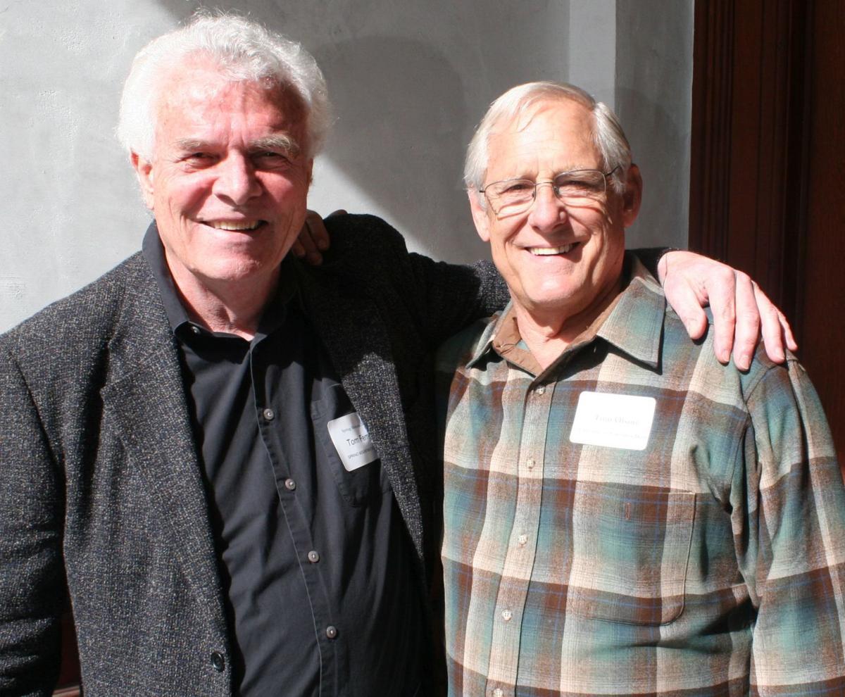 Tom Ferrell and Tom Olson