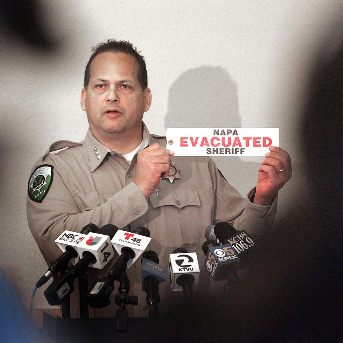Napa Sheriff's Office demonstrates new disaster communication steps