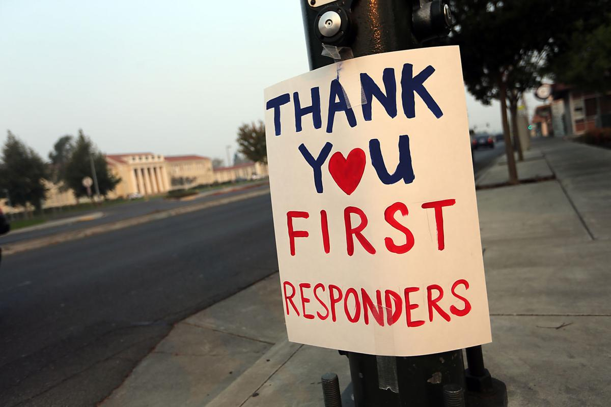 First Responders Sign