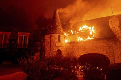 Fire explodes across Napa Valley; wine, hospitality businesses burn
