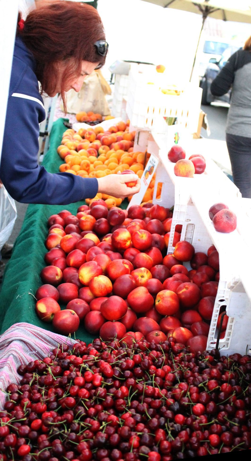 Stone fruit at the Farmers' Market