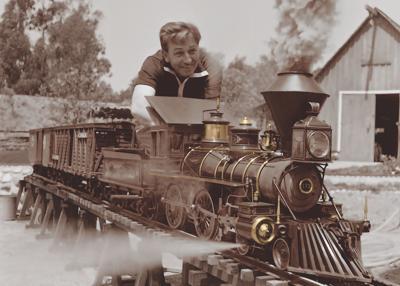 Walt Train Look Magazine
