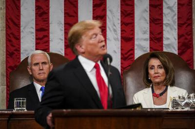 A special kind of shade: Pelosi's reacts to Trump, sets tone