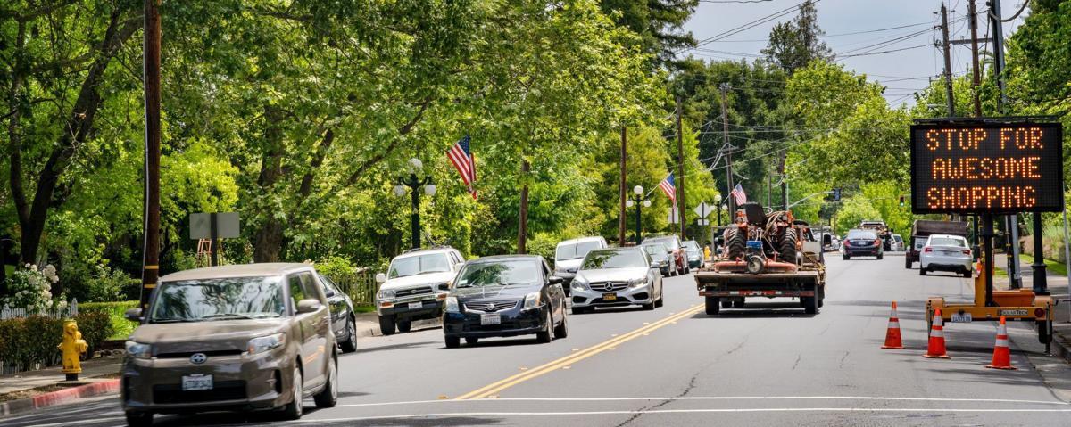 Main Street in St. Helena