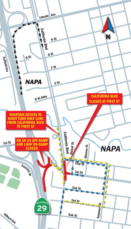 Caltrans map