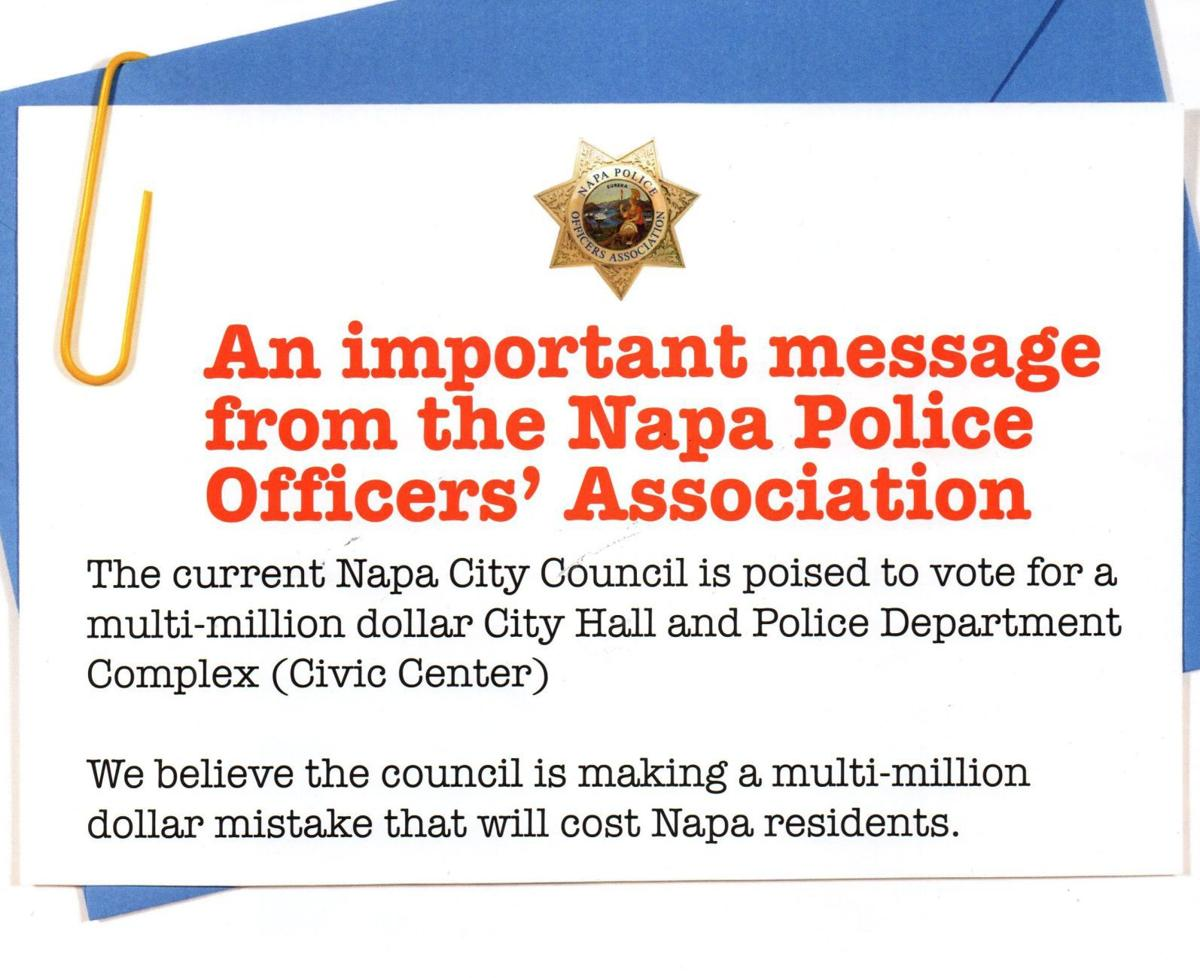 Napa Police Officers Association mailer