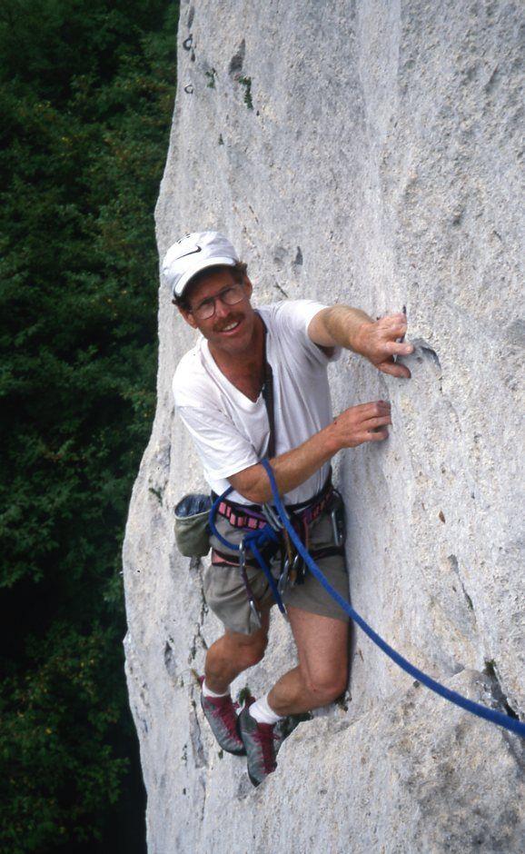 Ken Stanton in the Dolemites