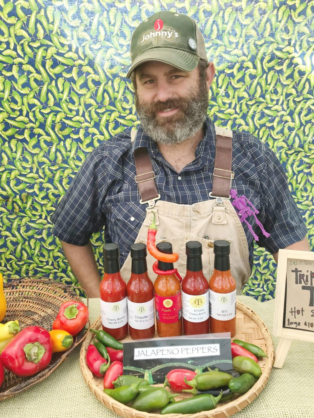 Vince Tristano of Santa Rosa's Triple T Ranch and Farm