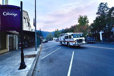 Calistoga fire engine Tim Carl