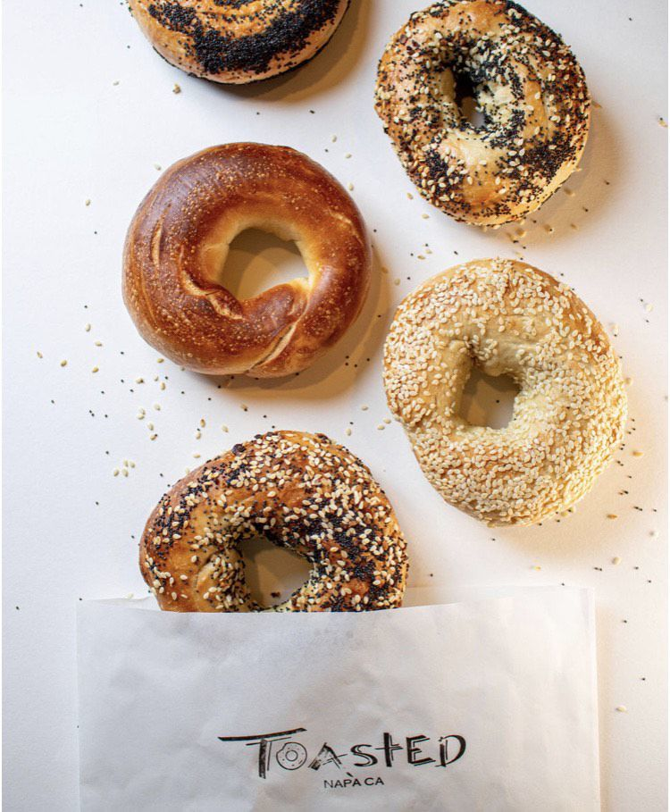 Bagels from Toasted of Napa
