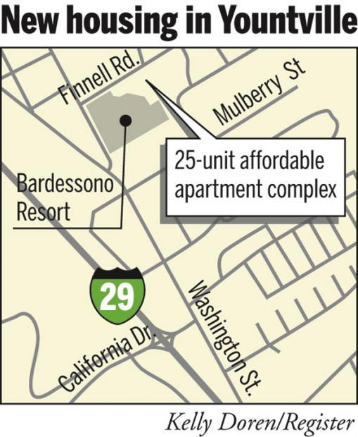 Affordable Housing For 25 Families Opens In Yountville