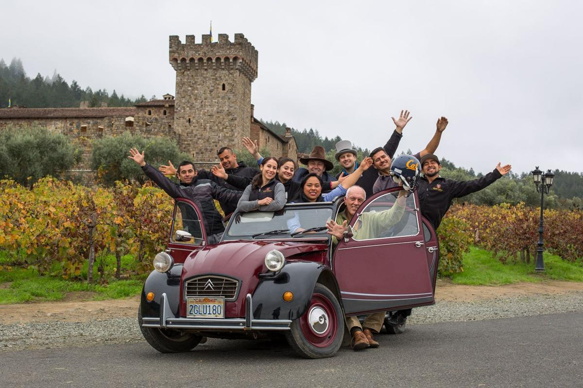 Castello di Amorosa launches ride share program