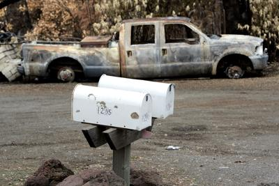 Mailboxes Destroyed in Atlas Fire (copy)