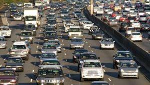 Traffic jam in Los Angeles/thinkstock