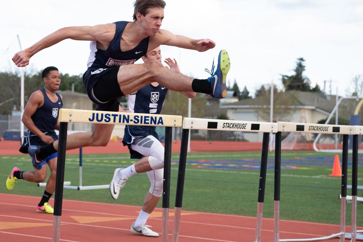 Justin-Siena track and field