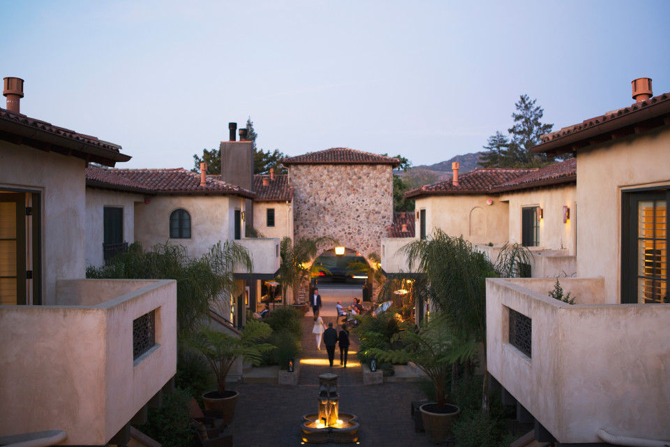Mosaic Hotel Group's North Block Hotel in Yountville