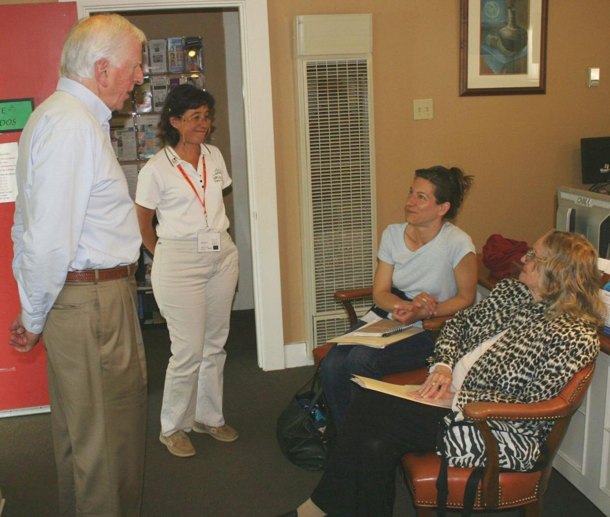 Congressman Mike Thompson at UpValley Family Center