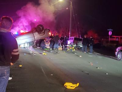 Crash on Kilburn Avenue leads to arrest