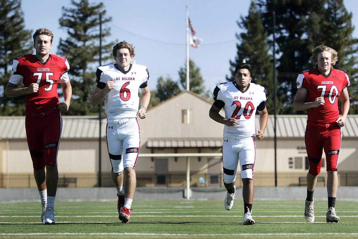 6c272bd6f Napa Valley Register Football Media Day. The St. Helena High School ...