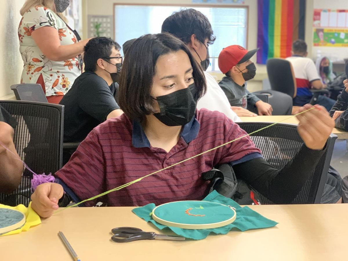 Napa New Tech students make heritage quilt squares
