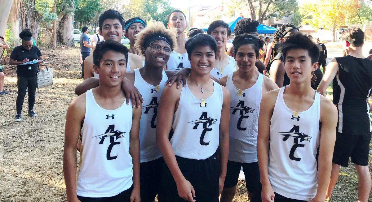 American Canyon boys cross country