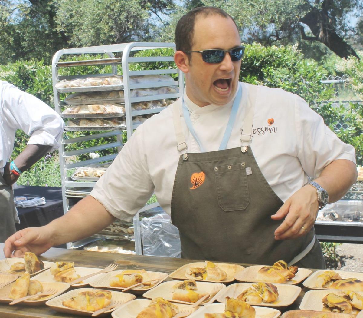 Blossom chef Itamar Abramovitch