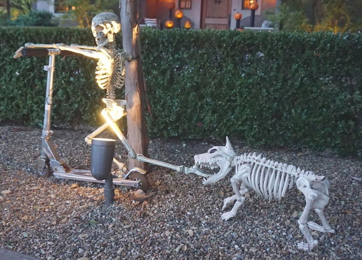 Halloween on Scott Street in St. Helena