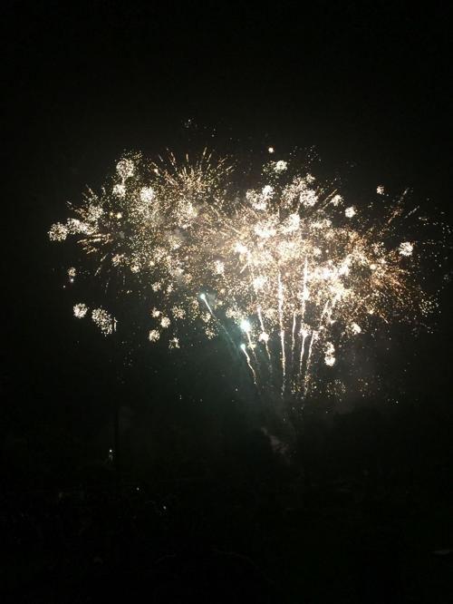 St. Helena fireworks show, 2018
