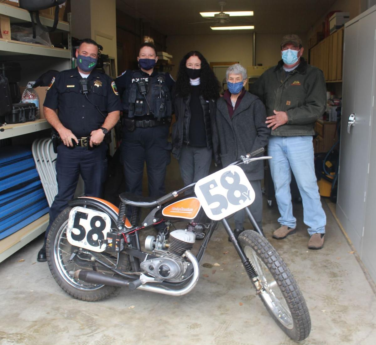 Stolen motorcycle recovered