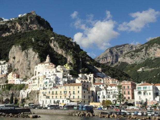 Italy's toe: Amalfi